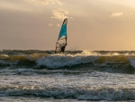 Windsurfing in Latvia