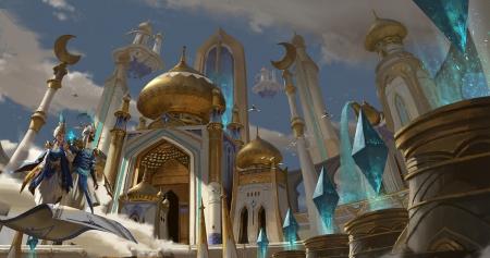 Byzantium City Art Fantasy