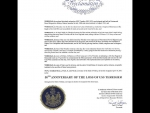 State Of Maine Proclamation