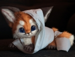 Mummy fox