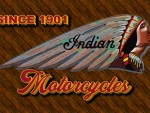 Indian Motorcycle 3-D bonnet