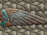 Indian Motorcycle tank emblem