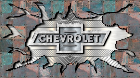 Chevy cracked Steel - Chevrolet & Cars