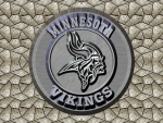 Minnesota Vikings chrome logo