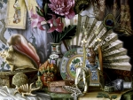Still life with oriental subjects
