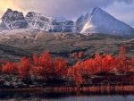 Autumn mountain scenery