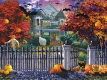Halloween House - Nicky Boehme