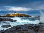 Nubble Lighthouse in Maine