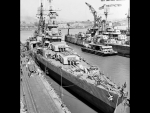 USS Indianapolis At Dock (Mare Island)