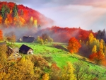 Ukraine in autumn