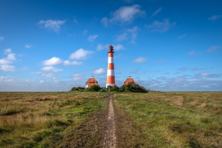Lighthouse in Germany - Lighthouses, Germany, Architecture, Nature, Landscapes