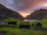 Grass on the Roof,Faroe Islands-Denmark