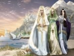Galadriel, Celebrian and Arwen