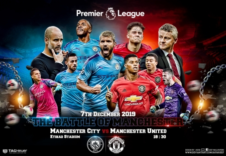 Manchester City Manchester United Soccer Sports Background Wallpapers On Desktop Nexus Image 2520947