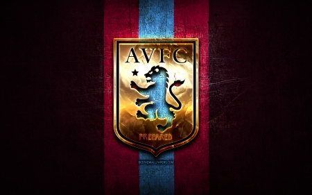 Aston Villa F.C. - the villa, soccer, aston villa fc, the lions, emblem, villa, avfc, villans, club, sport, logo, football, aston villa, aston villa football club