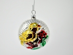 Bird Glass Baubles