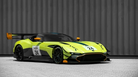 Aston Martin Vulcan - cars, aston martin, Aston Martin Vulcan, vehicles, green cars