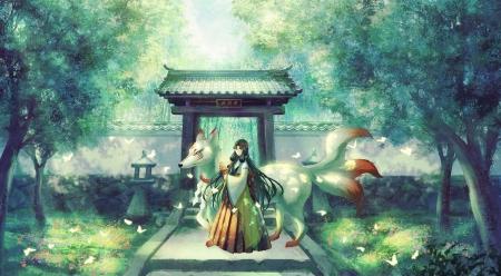 Kitsune Other Anime Background Wallpapers On Desktop Nexus Image 2522973