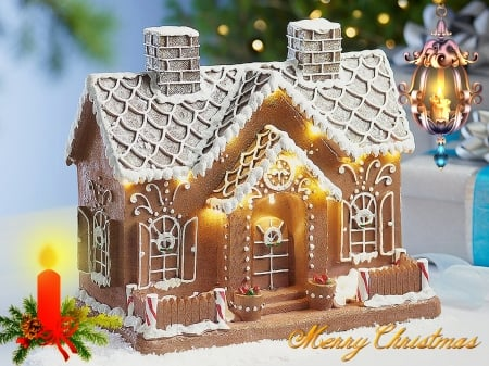 Gingerbread House 2019 - Christmas, Holiday, Season, Xmas, Gingerbread house