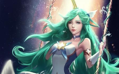 Star Guardian Soraka Fantasy Abstract Background Wallpapers On Desktop Nexus Image 2526829