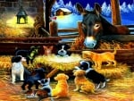 Barnyard Nativity