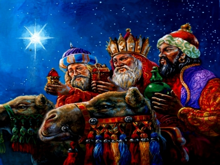 The Three Wise Men - Wise, Men, Three, People, Star