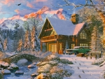 Holiday Cabin in The Rockies