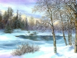 Winter Painting