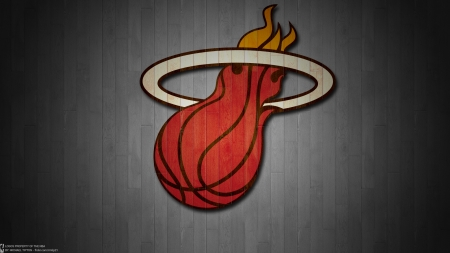 Miami Heat - logo, basketball, emblem, miami heat, heat, miami, club, nba, sport, team