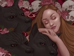 Persephone and Cerberus