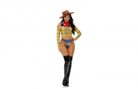 I Like This Outfit - brunettes, hats, boots, cowgirls
