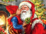Kisses for Santa