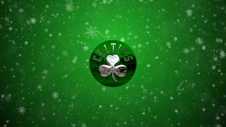 Boston Celtics - basketball, bosotn celtics, boston, nba, green, logo, celtics