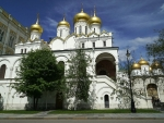 Monastery in Moscow, Russia