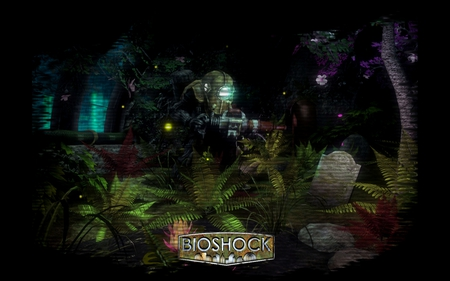 BioShock - rapture, game, big daddy, bioshock