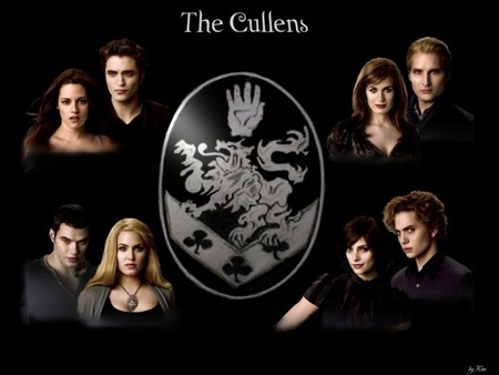 MEREDITHS  - the  cullens, black background