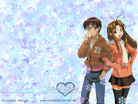 ♥ Love Hina ♥ - female, male, cute, boy, girl, anime, love, heart, love hina, lover, anime girl, couple