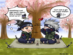 Kakashi being Kakashi. =P