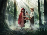 Little Red Riding Hood and Tom Sawyer