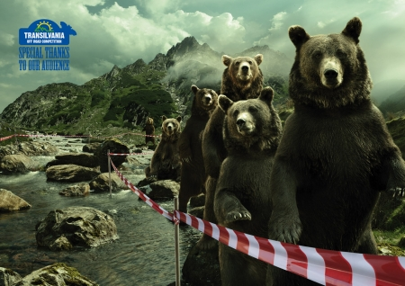 :D - fantasy, add, urs, bear, commercial, trasylvania off road competition, funny, advertise