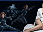 Black Widow Her Softer Side  Wallpaper