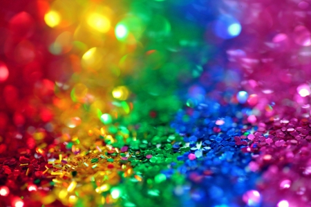 Rainbow - colors, rainbow, sparkles, glitter