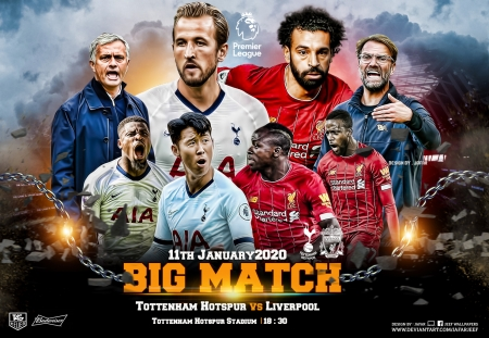 TOTTENHAM HOTSPUR - LIVERPOOL - TOTTENHAM HOTSPUR, premier league, LIVERPOOL, mohamed salah, LIVERPOOL wallpaper, TOTTENHAM HOTSPUR wallpaper, spurs, LIVERPOOL fc, champions league, football