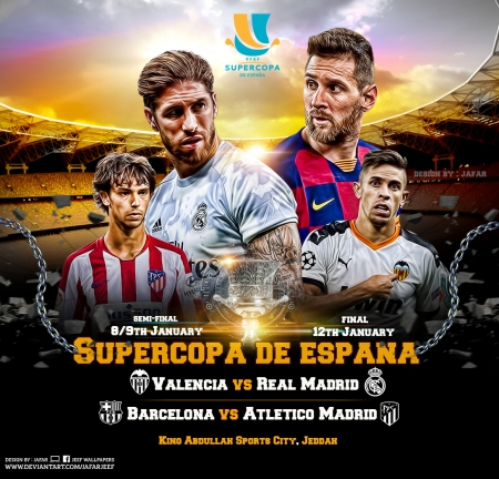 SUPERCOPA DE ESPANA - SUPERCOPA DE ESPANA wallpaer, valencia, fc barcelona, real madrid wallpaper, fc barcelona wallpaper, sergio ramos, lionel messi, lionel messi wallpaper, real madrid, atletico madrid, football, el clasico