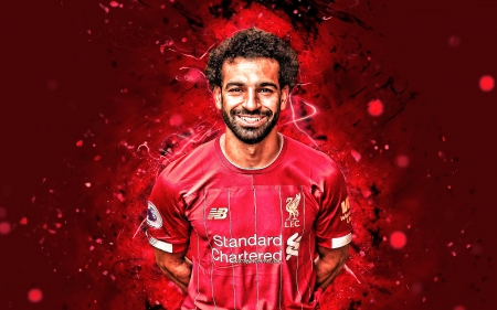 Mohamed Salah - liverpool, football, smile, mohamed salah, mo salah, red, soccer, lfc, ynwa, salah, egyptian