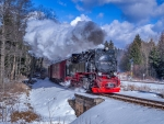 Steaming in Winter