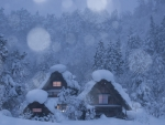Snowy Chalets