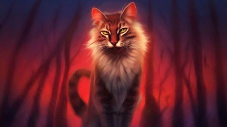 Warrior Cat Fantasy Abstract Background Wallpapers On Desktop Nexus Image 2531603