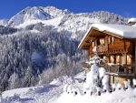 Chalet in the mountains