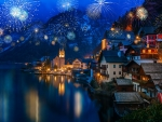 Hallstatt celebrates New Year